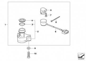 Zündlenkschloss mit Schalter (51257698141)