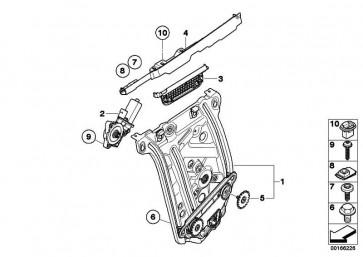 Torx-Schraube mit Scheibe ISA M6X17 1er 6er  (07149156655)