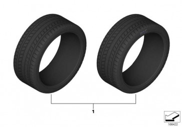 Pirelli P Zero r-f 245/35R18 88Y 1er 2er  (36122223403)