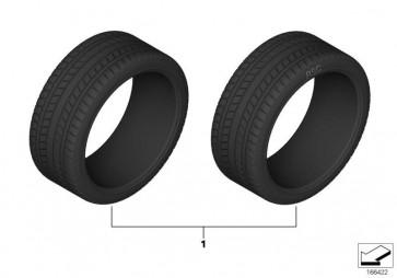 Bridgestone Potenza S 001 RFT 225/45R18 91Y (36122218784)