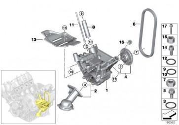 ISA-Schraube M8X45 ZNNIV SI  X6 7er X5 5er 6er  (07129905691)