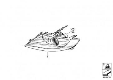 Scheinwerfer Bi-Xenonlicht rechts  Z4  (63127165710)