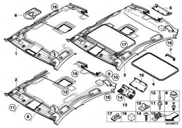 Linsenblechschraube mit Bund ST 3,5X12 3er 5er X1 X3 X5  (07147139407)