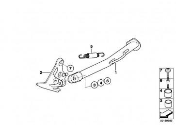 Linsenkopfschraube M10X20-10.9-MK K72 K73  (46537715130)