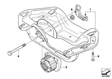 Getriebeträger  X5 X6  (22326791859)