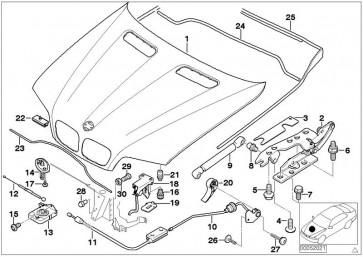 Gasfeder, Motorhaube //  LIFT-O-MAT® (STA-1041VO)