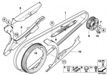 Reparatursatz Anfahrruckdämpfer  K71  (27727711036)
