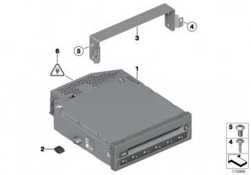 DVD-Wechsler  7er 5er X3 6er 1er 3er MINI  (65129272356)