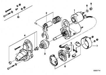 Kohlebürstensatz   (61312306015)