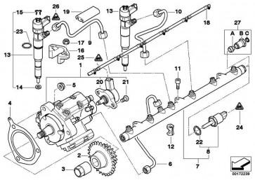 Montage-Kit  3er 5er 7er X5  (13537812381)
