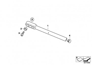 ISA-Schraube M8X30           K29 K30 K72 259C  (07129903719)