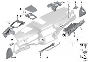 C-Clip Kunststoffmutter  1er 2er 3er 4er 5er 6er 7er X5 X6 MINI  (07149200938)
