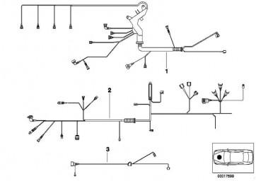 Kabelbaum Motor Motormodul  3er  (12517506861)