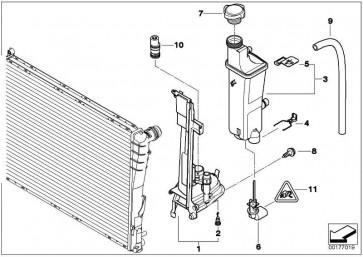 Montageplatte  3er  (17112354043)