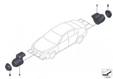 Ultraschallwandler ALPINWEISS      5er 6er 7er X3 X5 X6  (66209233031)
