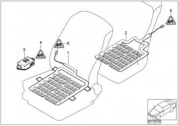 Steuerelektronik Sitzerkennung  7er  (65776943585)