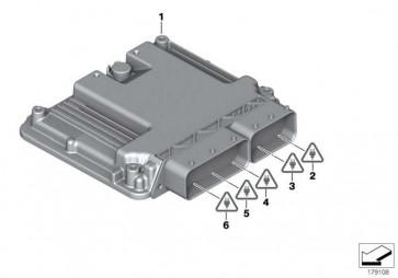 Grundsteuergerät DDE 741 X3 7er 5er 3er 4er X5 X4 X6  (13618586540)