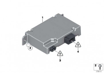 Steuergerät kamerabasierte Systeme  5er 6er 7er  (66519259021)
