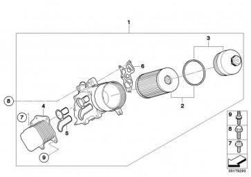 Dichtung, Ölfiltergehäuse (ELR-262.490)