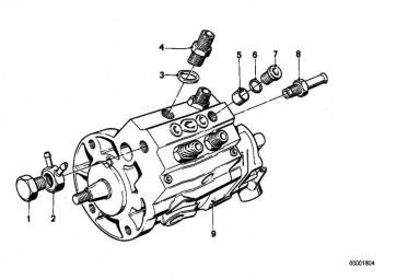 Druckventil   5er M1  (13511257553)