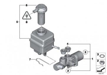 Hauptbremszylinder (34336799903)
