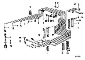 Einspritzleitung 1.Zylinder  3er  (13531266605)