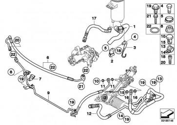 Zylinderschraube M8X35-10.9-ZNS3 3er 5er 7er X3 X5 X6 Z3 Z4  (07119906650)