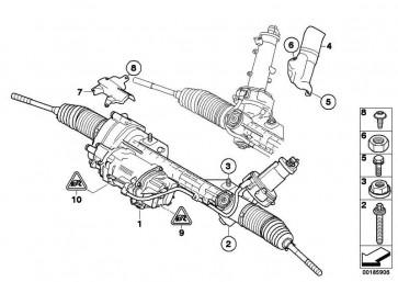 Austausch Lenkgetriebe elektrisch  1er 3er X1  (32106872478)
