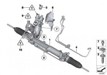 Austausch Hydrolenkgetriebe Aktivlenkung  7er 5er  (32106795225)