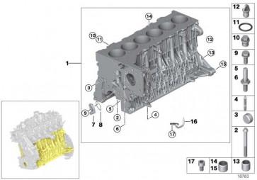 ASA-Schraube M10X85 7er 5er X3 3er X5 1er 6er X6 X1 4er 2er X4 MINI  (11118578191)