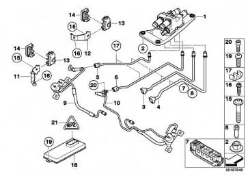Druckleitung Schwenkmotor M14X1,5 X5 X6  (37136783678)