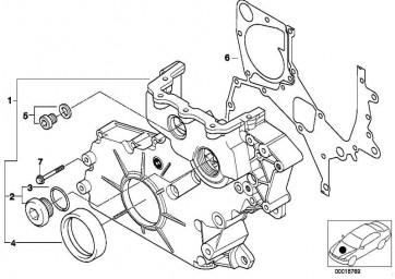 Torxschraube mit Bund M7X42           3er 5er 6er 7er X3 X5 X6  (11147792545)