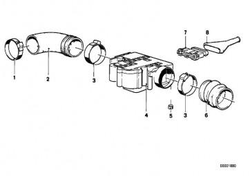 Luftmengenmesser   5er 6er 7er  (13621359641)
