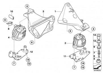 Torxschraube mit Scheibe M8X80-U1-10.9   (22116774175)