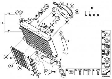 Rücklaufschlauch  K16  (17127709401)
