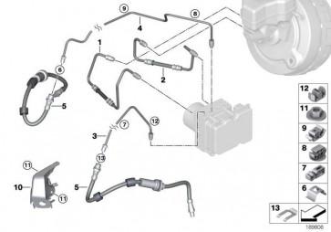 Rohrleitung M10/M12         3er X1  (34326853537)