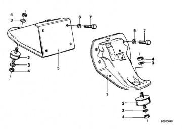 Sechskantschraube M8X16           1er  3er 5er 6er 7er 8er M1 X5 X6 Z1 Z3 Z4 MINI  (07119913612)