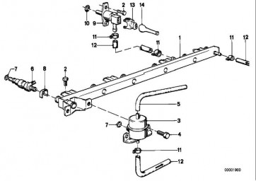 Druckregler 3,0BAR 3er 5er 6er 7er Z1  (13531711541)