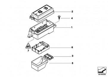 Universal-Buchsengehäuse uncodiert 10 POL. MINI  (61136901814)