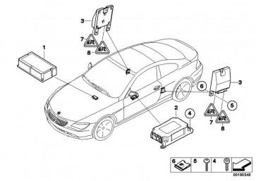 Steuergerät Airbag mit Gateway-Modul  5er 6er  (65776975686)