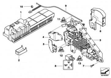 Batteriekabel plus  5er 6er  (61129127768)