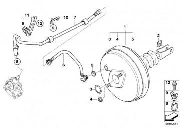 Unterdruckleitung mit Rückschlagventil (11667571122)