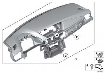 Verkleidung Instrumententafel  X1  (51452991241)