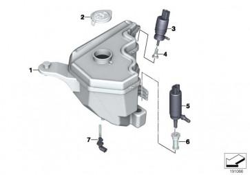 Waschpumpe Scheinwerferwaschanlage  1er 2er 3er 4er 5er 6er 7er X3 X4 X5 X6 Z4 MINI  (67637217792)