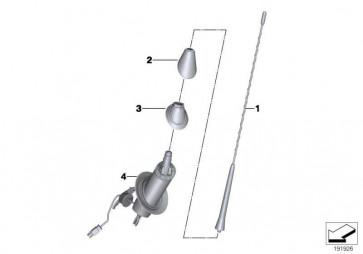 Abdeckung Antennenfuss  Z4  (65209174522)