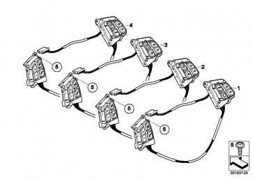 Schalter Multifunktionslenkrad  1er 3er  (61319123287)
