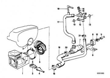 Austausch Luftmengenmesser  3er  (13627547982)