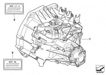 Austausch 6 Gang Getriebe GS6-53BG - TCOL MINI  (23007625516)