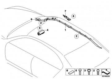 Airbagmodul Beifahrerseite  6er  (72127009246)