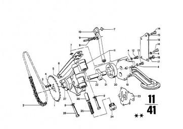 Sechskantschraube mit Scheibe M6X30-U1 (07119905429)